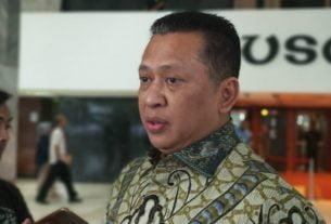 Ketua DPR RI,Bambang Soesatyo